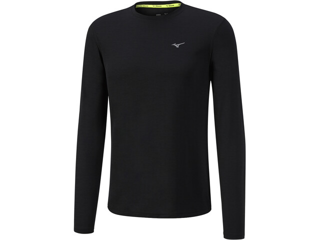 Mizuno Impulse Core Hardloopshirt lange mouwen Heren, black